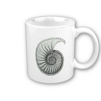 Ammonite Mug
