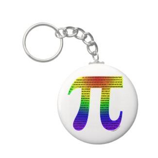 Evan's Pi Keychain