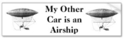 Personal Airship Bumper Sticker