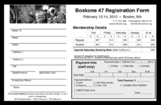 Boskone Registration Form