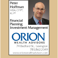 Advertising Design: Orion Wealth Advisors Town Planner Ad