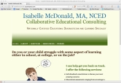 Isabelle McDonald Website