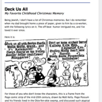 Christmas 2012 Newsletter