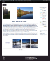 Hawthorne Village About Page
